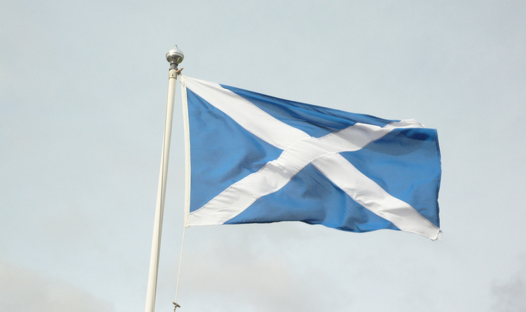 Full 56991282 scottish flag
