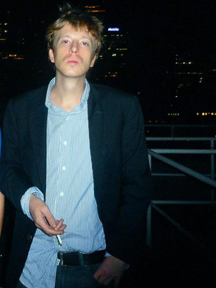 Full barrett brown  founder of project pm  on a manhattan rooftop during hope 9 in nyc