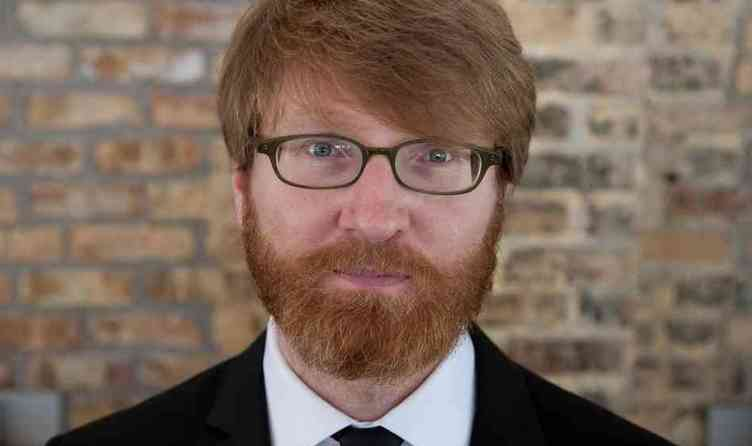 Full chuck klosterman in minneapolis  minn. on sept. 20  2009