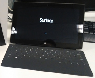 Full microsoft surface  black
