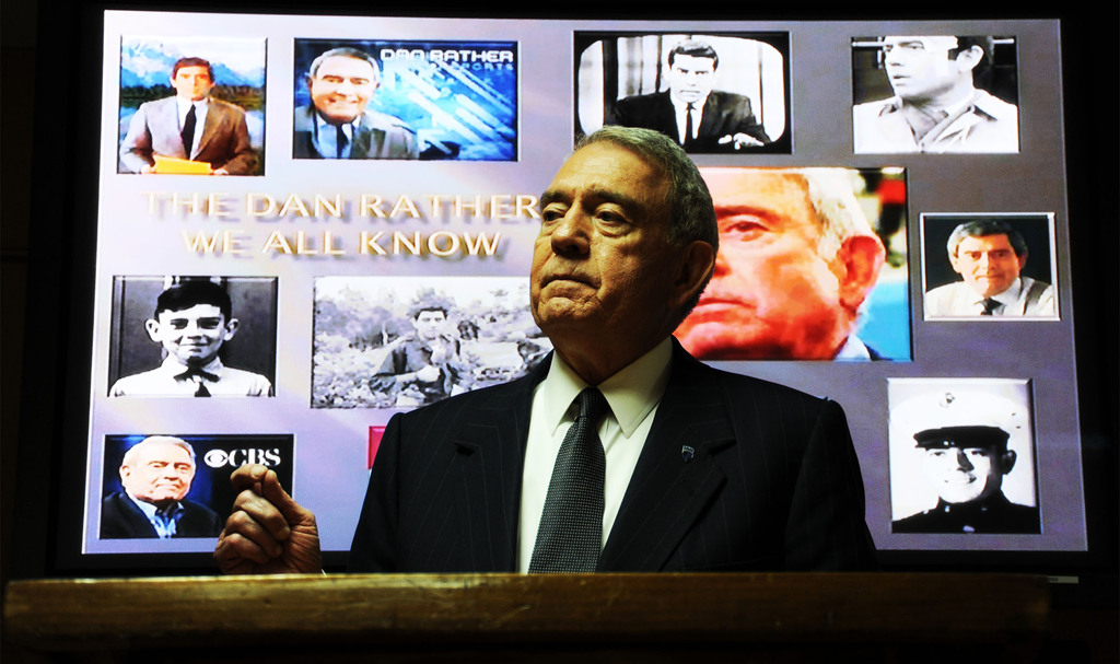 Hero dan rather in afghanistan 2011