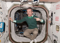 Thumb 1280px chris hadfield in the space station on saint patrick s day