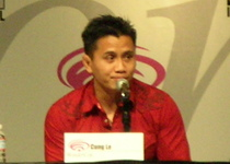 Thumb cung le at wondercon 2009