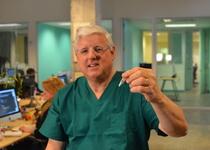 Thumb dr. reid rubsamen with vaccine.