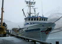 Thumb fv northwestern docked at the trident shore plant in akutan  alaska