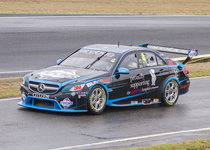 Thumb lee holdsworth in erebus motorsport car 4  departing pitlane during the v8 supercars test day