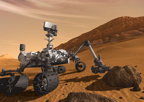 Thumb mars science laboratory curiosity rover
