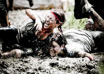 Thumb spartan race   muddy hit