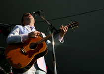 Thumb steven page playing the 32nd vancouver folk fest