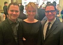 Thumb wilson cleveland  derek   alexis boozer  bryn  and joshua malina at the inaugural iawtv awards