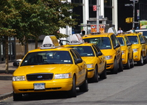 Thumb yellow cabs in new york