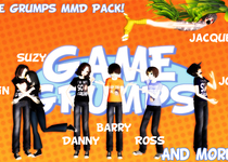Thumb big ass game grumps mmd pack download  by shake666productions d76k4li