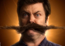 Thumb nick offerman mustache